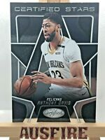 NBA Anthony Davis New Orleans Pelicans Panini Certified Stars Card #CSR-4