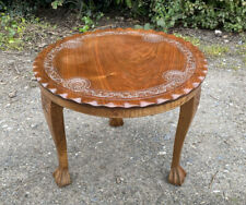 Vintage Wooden 3 Legged Side Table