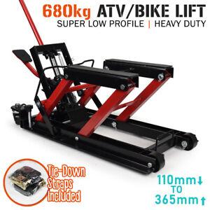 Motorcycle Motorbike ATV Hydraulic Bike Lift 680kg SUPER LOW PROFILE - 110mm