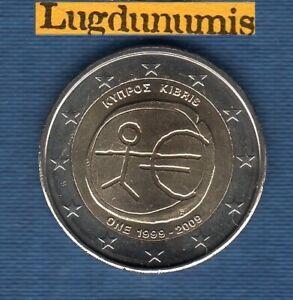 2 euro Commémo Chypre 2009 EMU UME Chypre