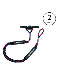 Kwik Tek Airhead Bungee Dock Line 5 Feet Boat Cord, Stretches to 7 Feet (2 Pack)