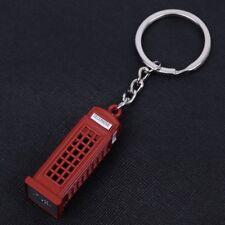 Porte-clés Cabine Téléphonique Anglaise en métal