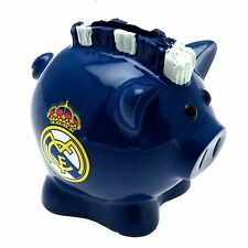 Real Madrid FC Mohawk Piggy Bank Football Fan Gift Official Licensed Merchandise
