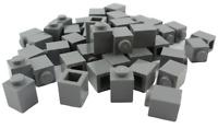 Lego 50 Stück dunkelgraue (dark bluish gray) Steine 1x1 Stein (3005) Neu