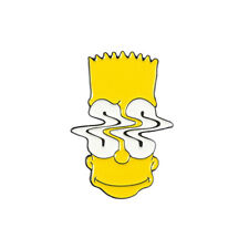 Pin simpsons head bart simpson pin Enamel Lapel Pins Brooch Jewelry Gift