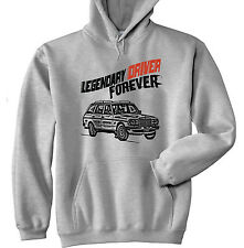MERCEDES 280TE LEGENDARY DRIVER - NEW  GREY HOODIE - ALL SIZES IN STOCK