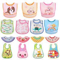 Baby Infant Kids Waterproof Saliva Towel Feeding Burp Cloth Unisex Bandana Bibs