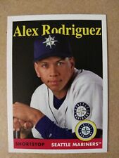 New listing 2019 Topps Archives #90 Alex Rodriguez Mariners