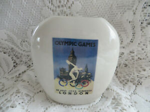 CARLTON WARE LONDON OLYMPIC GAMES VASE