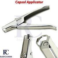 Dental Surgical Capsule Applicator Gun For Encapsulated Autoclavable Plasdent