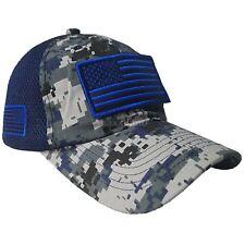 1233e4c1acb Baseball Cap USA American Flag Hat Detachable Mesh Tactical Military Army  Style