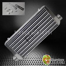 Chrome 3'' Aluminum FMIC Plate Front Mount Turbo Intercooler 31'' x 12'' x3''