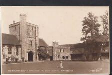 Hampshire Postcard - The Beaufort Tower & Ambulatory, St Cross,Winchester RS3553