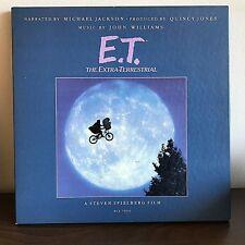 E.T. Box Set by Michael Jackson & John Williams MCA Records 1982 Vinyl Poster