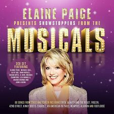 ELAINE PAIGE PRESENTS SHOWSTOPPERS FROM THE MUSICALS 3 CD (2017)