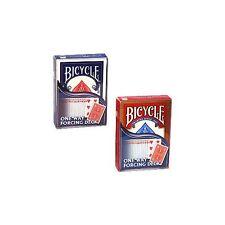 One Way Forcing Deck- Bicycle Zauber Spielkarten Kartentricks