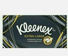 Kleenex Extra Large XL 2 Ply Facial Tissue Strong Soft  Pack of 6 ,12,18,Boxes