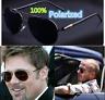 Quality Aviator Sunglasses Men Polarized Retro Driving UV400 Mirrored Lens