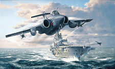 Philip West - Royal Navy print Buccaneer Strike Force signed by 11 FAA aircrew