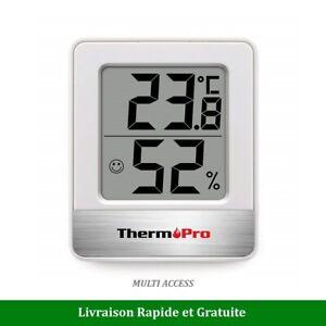 Petit Thermomètre Hygromètre Intérieur Numérique sans fil ThermoPro TP-49