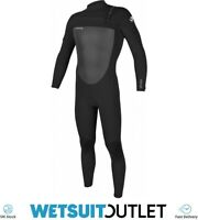 O'Neill Mens Epic 5/4mm Chest Zip Wetsuit Black