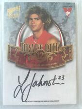 2009 Pinnacle Draft Signature DP12 Lewis Johnston 23/400 Sydney Jumper Number