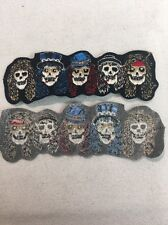 True Vintage Original Rare Guns N Roses Skulls Patch Pre-1994 (mp78)