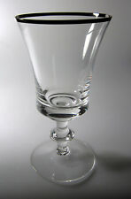"Gorham Cavalier Water Goblet 6 5/8"" tall x 3 1/2"" diameter Excellent"