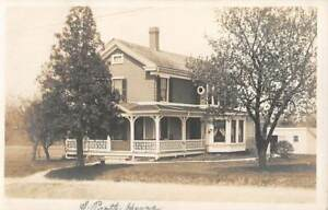 TORRINGTON, CT, 5 REAL PHOTO PC's + ENV, PRATT PRIVATE HOME & OTHERS, 1903--20