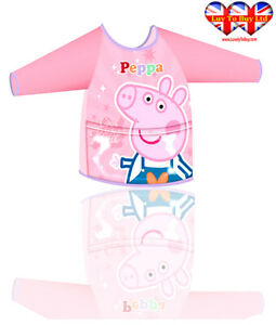 Children Apron, Peppa Pig Apron For Girl's & Boys, Official Licensed(2-6Years)
