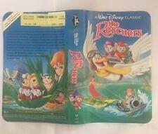 The Rescuers VHS 1992 The Classics Black Diamond Edition