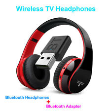 Bluetooth TV Headset - HiFi bluetooth Headphone Deep Bass Wireless TV Headphone