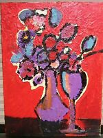 Matisse Style Flower Still Life Oil Painting