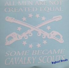 Cav Scout Decal US Army Scouts Out Car Truck SUV Wall Vinyl Window Sticker