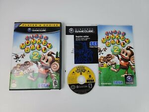 Super Monkey Ball 2 Nintendo GameCube 2002 Includes Case & Manual Great Shape