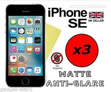 3x HQ MATTE ANTI GLARE SCREEN PROTECTOR COVER FILM GUARD FOR NEW APPLE IPHONE SE