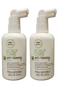 Paul Mitchell Tea Tree Scalp Care Anti-Thinning Scalp Tonic 3.4 oz (Pack of 2)