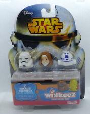 Wikkeez Star Wars R2D2, Obi Wan Kenobi et Storm Trooper