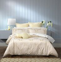 Bianca Trieste Quilt Cover Set Ivory