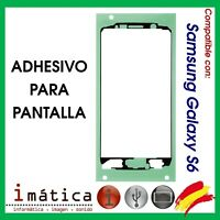 ADHESIVO DE PANTALLA LCD PARA SAMSUNG GALAXY S6 G920F FRONTAL DELANTERO CRISTAL