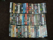 62,vhs tapes Boxed ,romance ,comedy, action, sc-fi, western, war, horror ,