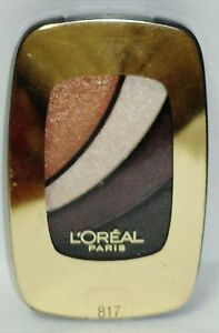 1 L'oreal Colour Rich Eye Shadow Compact Smokey Eyes SO OVER IT #817 Sealed