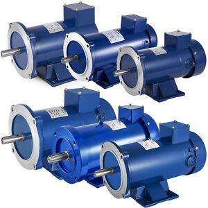 DC MOTOR, 1/3~3HP, 56C, 12/24/90/180V, 1750RPM, TEFC, Permanent Magnet
