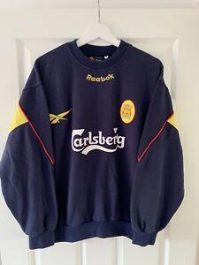 *Rare**Vintage* Liverpool 1997/98 Medium Training Football Sweatshirt