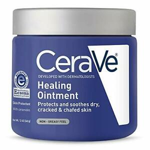 CeraVe Healing Ointment | 12 Ounce | Cracked Skin Repair 1 Pack