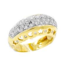 18K Yellow Gold 0.55 Ct GVS1 Diamond Ring 7.8 Grams Size 8