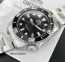Orient New Triton Automatic 200M Sapphire Crystal Black Dial Watch RA-AC0K01B10B
