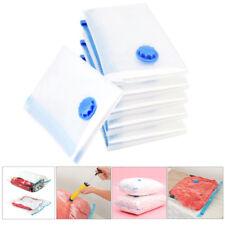 5pcs 50*70cm Vacuum Storage Bag Suction Compression Clear Clothes Dust proof