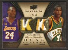 2008-09 UD Premier Rare DUAL PATCH #RP2-BD Kobe Bryant Lakers Kevin Durant 22/50