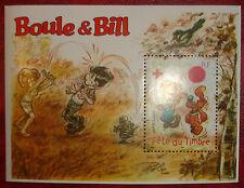 """SUPERBE BLOC N°46 """"BOULE ET BILL"""" de 2002 NEUF** cote 3 euro LUXE !!"""